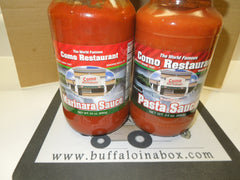 Como Restaurant Pasta OR Marinara Sauce (24oz) Glass - BuffaloINaBox.com: Buffalo, NY Food Shipped