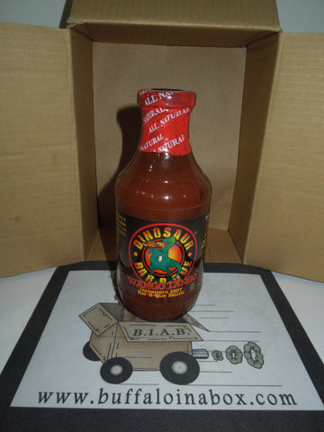 Dinosaur Bar-B-Que- Wango Tango Hot Sauce (19 oz) Glass