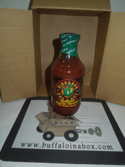 Dinosaur Bar-B-Que Roasted Garlic Honey BBQ Sauce (19 oz) Glass - BuffaloINaBox.com: Buffalo, NY Food Shipped