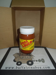 Boss Gourmet After-Sauce (16 oz) Glass - BuffaloINaBox.com: Buffalo, NY Food Shipped