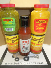 Grandma's Franks & Beans -Upstate NY Grilling & Tailgating Package - BuffaloINaBox.com: Buffalo, NY Food Shipped