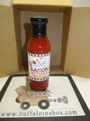 Burning Ashphalt - Bacon Ketchup (15oz) Bottle - BuffaloINaBox.com: Buffalo, NY Food Shipped