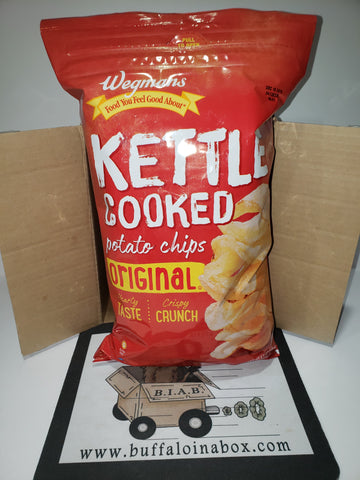 Wegmans Kettle Potato Chips -Original (8.5oz.) Bag