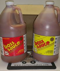 BOSS SAUCE -(1 GAL) Kosher - BuffaloINaBox.com: Buffalo, NY Food Shipped