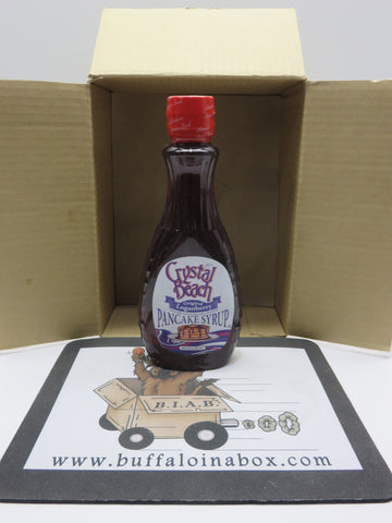 Crystal Beach Loganberry Pancake Syrup -(12oz) Bottle