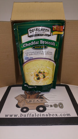 Bear Creek Country Kitchens- Cheddar Broccoli Soup Mix (11oz) Bag