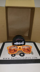 """I Love Wings"" Wayfarer - Sunglasses - BuffaloINaBox.com: Buffalo, NY Food Shipped"