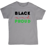 Black and Proud T-Shirt (Youth Sizes)