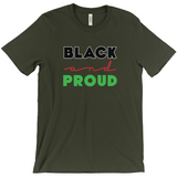 Black And Proud (Dark) T-Shirts