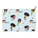 Flat Mermaid Accessory Pouches