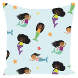 Mermaids Throw Pillows