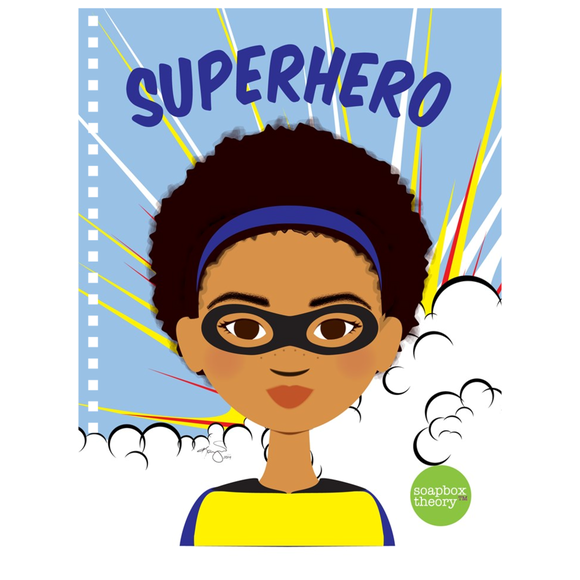 Superhero (Girl) Notebook