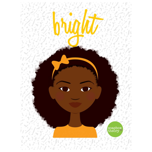 """Bright"" Little Sis Notebook"