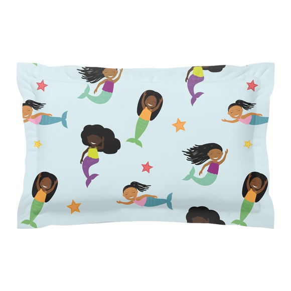 Mermaid Pillow Sham