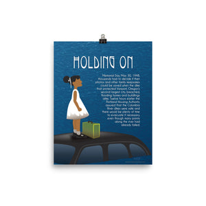 """Holding On"" Poster"