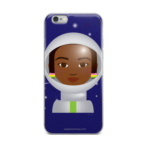 Astronaut Girl iPhone Case
