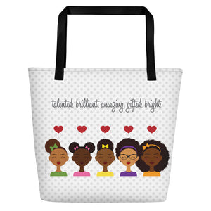 """All the Girls"" Beach Bag"