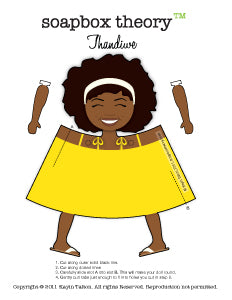 Darling Thandiwe - Paper Toy *Download*