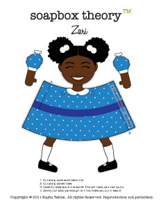 Darling Zari - Paper Toy *Download*
