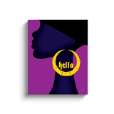 """Hella"" - Canvas Wraps"