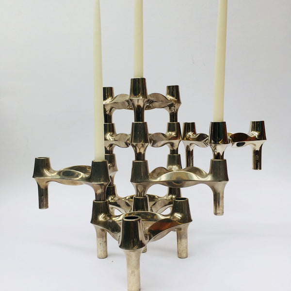 1960s Fritz Nagel for BMF Candle holders