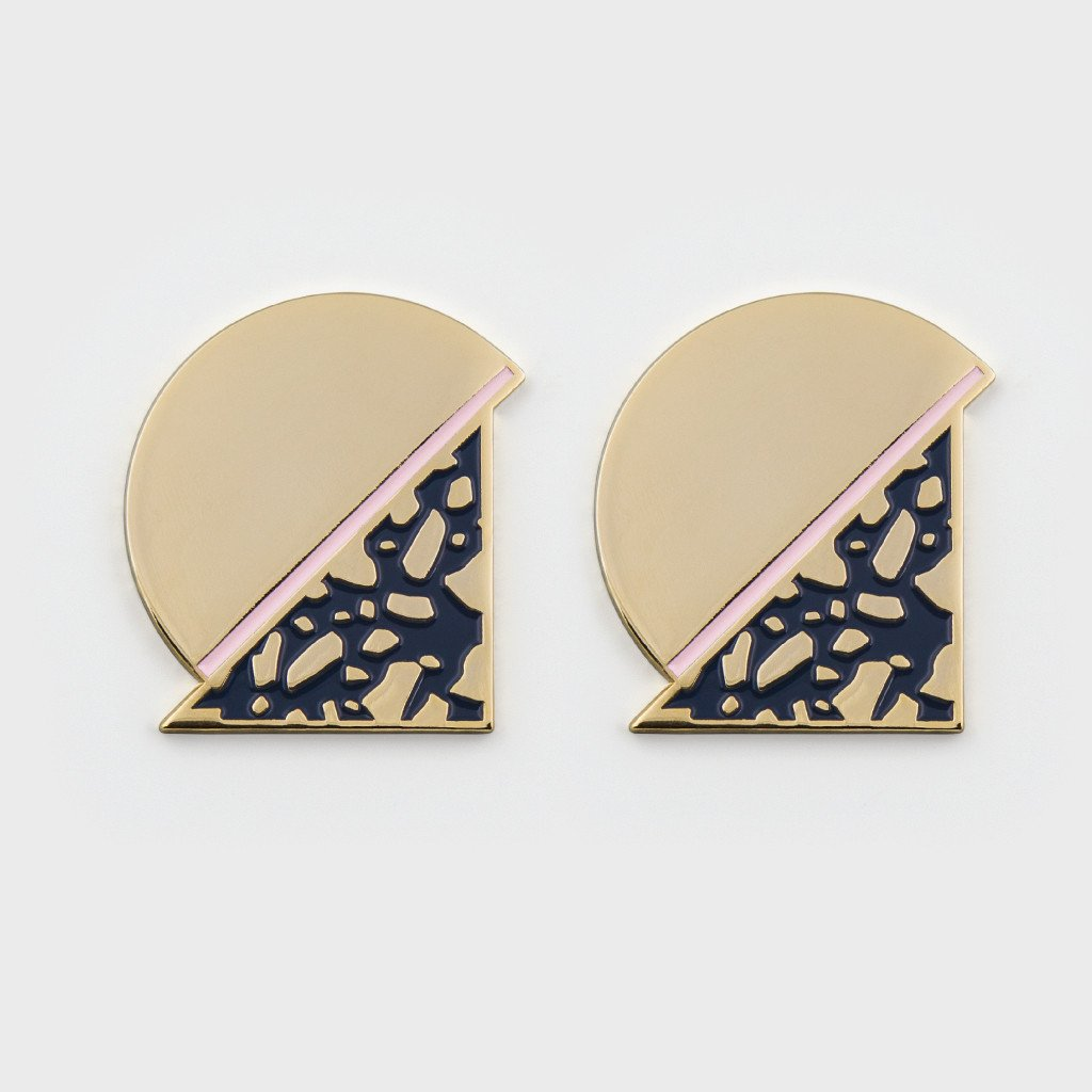 Milk Tooth LDN Moon Earrings