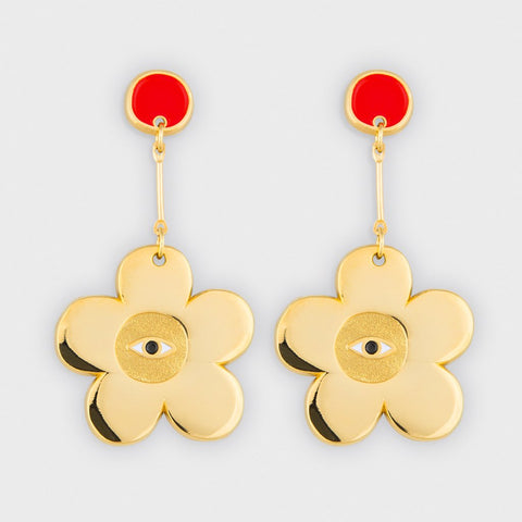 MilkTooth LDN Flower Earrings