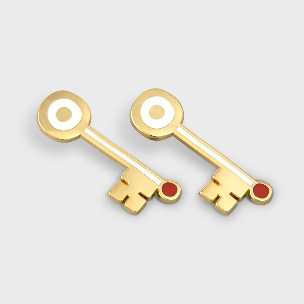 MilkTooth LDN key Earrings