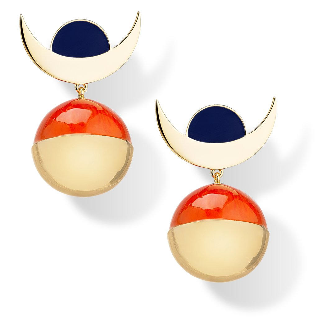 Milk Tooth LDN Dimension Statement Earrings
