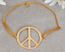 Load image into Gallery viewer, GOLD PEACE BRACELETS