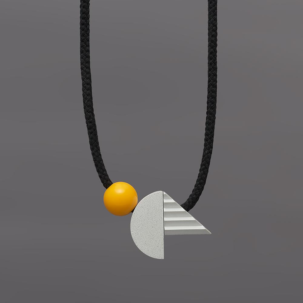 One We Made Earlier - Pop necklace (yellow)