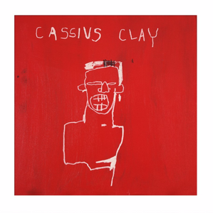 Jean-Michel Basquiat - Cassius Clay, 1982  (Watercolour Paper)