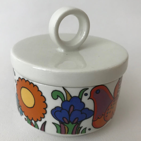 Original Acapulco Sugar Bowl with Lid