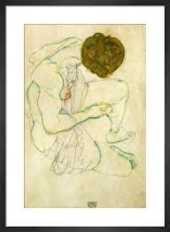 Egon Schiele - Seated Nude Women