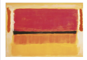Mark Rothko - Untitled (Violet, Black, Orange, Yellow on White and Red)