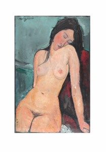 Amedeo Modigliani -  Female nude