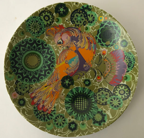 Bjorn Wiinblad For Rosenthal- Firebird Plate