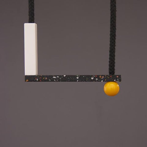 Sol Necklace- Yellow
