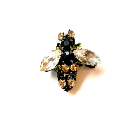 Sparkly bee pin