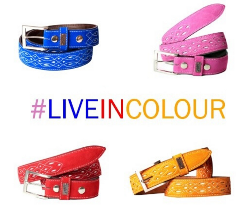 Add some colour with our new Suede Belts...