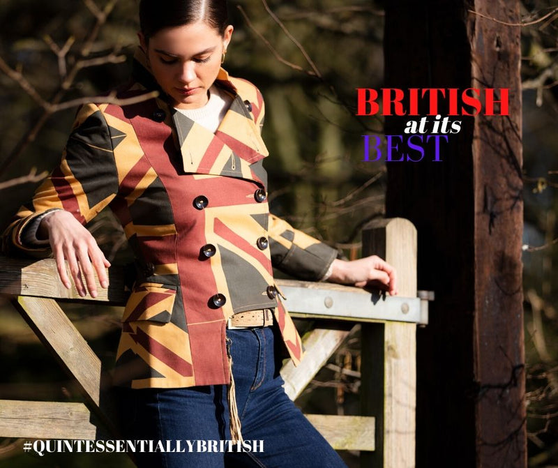 More urban upset than country set, Egality Freedom jackets are quintessentially British in every way