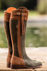Spanish Riding Boots Suede The Spanish Boot Company