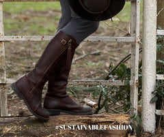 spanish riding boots quality sustainable fashion