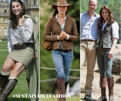 duchess of cambridge spanish riding boots over the years sustainable fashion