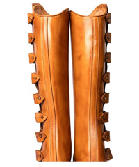 The Spanish Boot Company Half chaps Half Chaps (Polainas): Tobacco