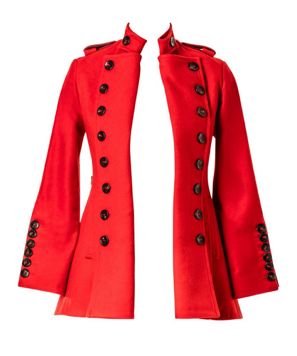 Egality Freedom coats and jackets Libertine Jacket: red