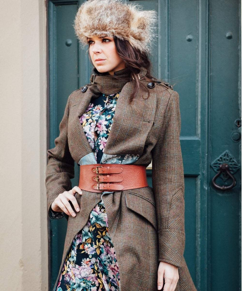 Egality Freedom coats and jackets Limited Edition Duchess Tweed Coat