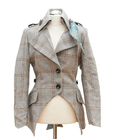 Libertine Jacket: Cream Tweed