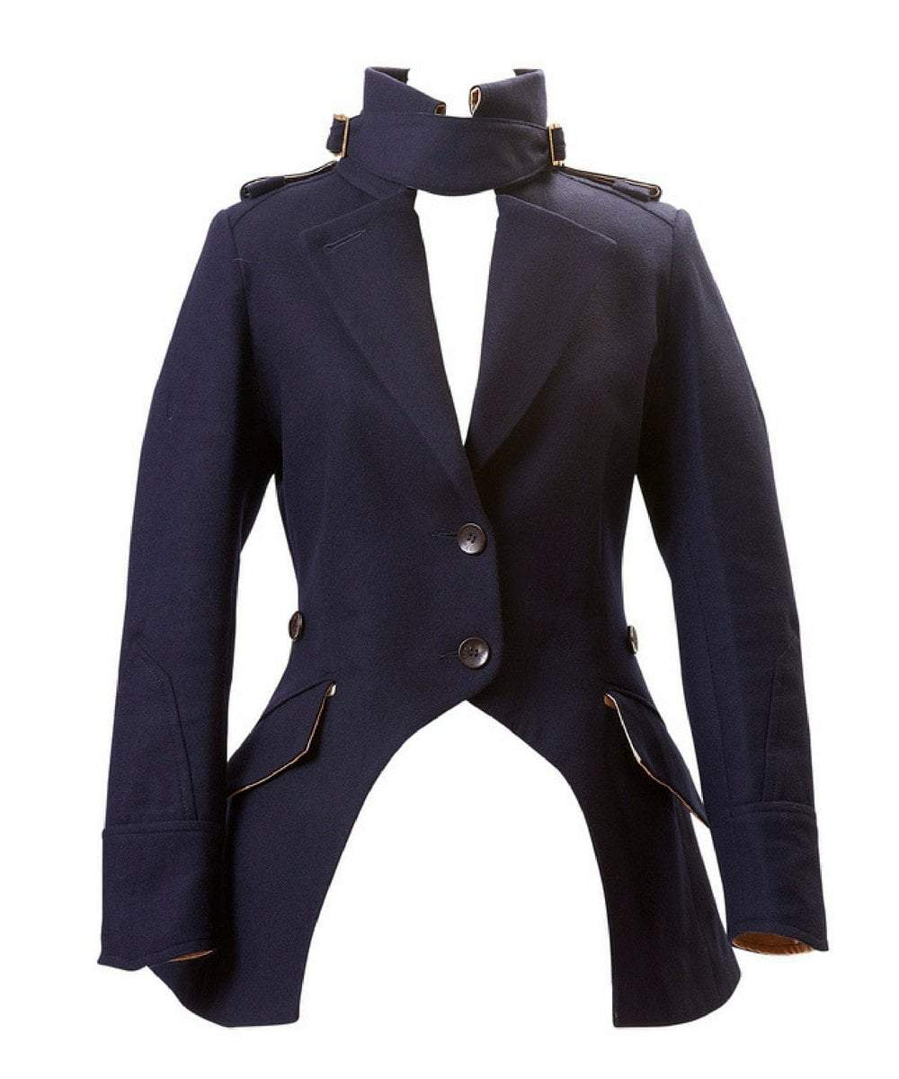 Egality Freedom coats and jackets Sandhurst Fishtail Jacket: Navy