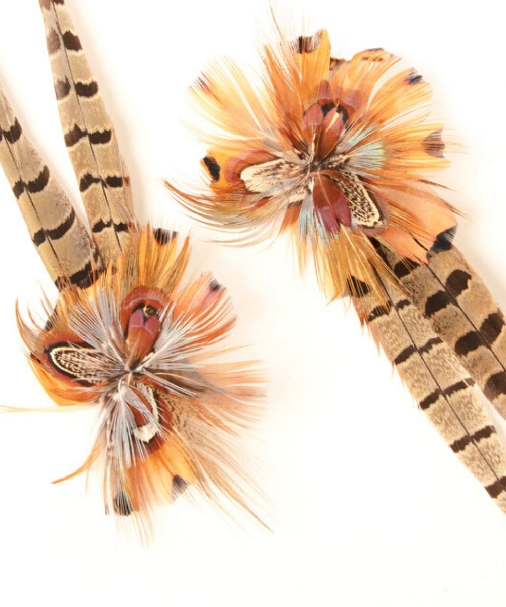 Limited Edition Bespoke Feathers Tassels